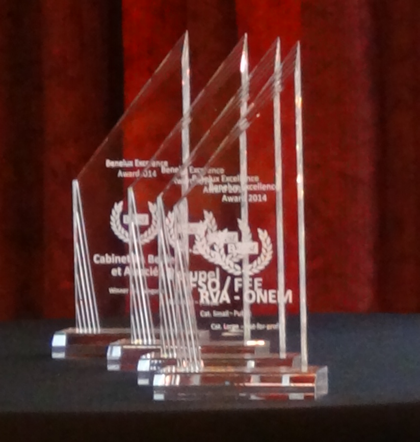 Benelux Excellence Award 2015